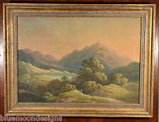 Ben Venue Glen Finglas Brig O'Turk - Gouache 1860 - Scottland Loch Lomond Katrin