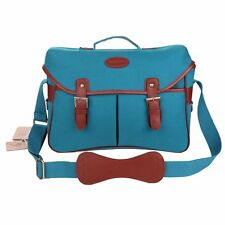 Koolertron Waterproof Vintage Canvas DSLR Camera Bag Tablet Carry Shoulder Bag