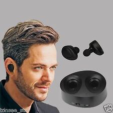 Mini TWS True Wireless Bluetooth Stereo Headset In-Ear Kopfhörer Earbuds Twins
