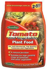 Tomato and Vegetable Food Fertiliser - 2.5kg  Brunnings Vegie Fertilizer Herbs