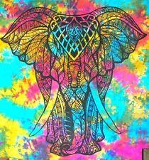 Tagesdecke CHANDRA-Dekotuch Bettüberwurf Indien Goa Hippie Psy Wandbehang single