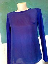 Pullover  in einem tollen blauton  Gr.S neuwertig