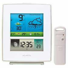 Acurite Color Weather Station Indoor/outdoor temperature Wireless sensor|WHT new