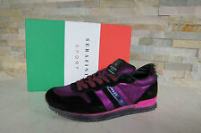 SERAFINI SPORTS Sneakers trainers Size 39 Lace up Shoes Scarpe Violet new