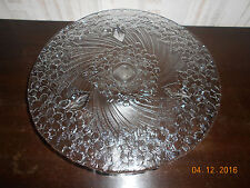 Kuchenplatte, Tortenplatte mit Fuß, Kuchenteller Tortenteller Glas Servierplatte