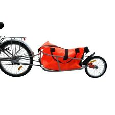 90L Bike Cargo Trailer Bicycle Luggage Shopping Bag Cycle Utility Carrier RED