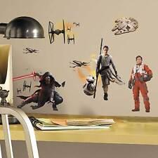 Wandsticker Star Wars Erwachen der Macht Wandtattoo Awakens Kylo Ren Chewbacca