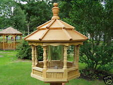 Wood Spindle Amish Homemade Handcrafted Handmade Bird Feeder Md