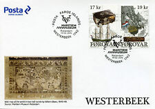 Faroe Islands 2016 FDC Westerbeek Wreck 2v Cover Ships Boats Shipwrecks Stamps