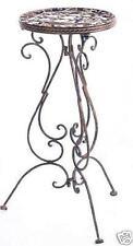 Beistelltisch 1853 Blumenständer 60 cm Avis aus Schmiedeeisen Blumenhocker Metal