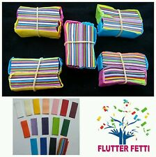 10 block bag of Flutter Fetti party Confetti for party celebrations wedding