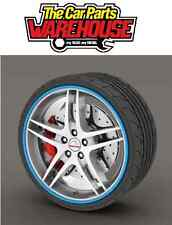 "RIMBLADES ALLOY RIM PROTECTOR OR REFURBISHER BLUE UPTO 22"" WHEELS * SS5131"