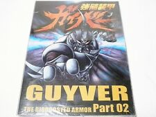 "GUYVER PART 2, THE BIOBOOSTED ARMOR, ANIME DVD, NTSC ""NEW"" AUZ SELLER"