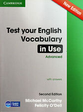 Cambridge TEST YOUR ENGLISH VOCABULARY IN USE ADVANCED New 2nd Ed w Answers @NEW