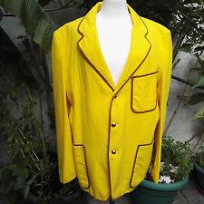Blazer, 1920's Style, Yellow, BARBERSHOP, BOOK CHARACTER