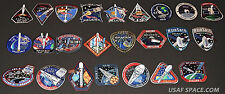 SPACEX 34 Mission SPACE PATCH SET F-9 FALCON-9 DRAGON ORIGINAL NASA ISS CRS-1~9