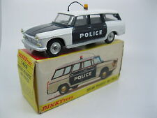 French Dinky 1429 Peugeot 404 Police Car vintage diecast near mint boxed RARE