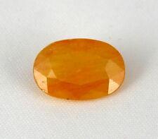 TOP SAPPHIRE : 8,30 Ct Natürlicher Orange Gelb Saphir aus Madagaskar