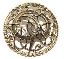 World Serpent Viking Bronze Brooch