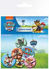 Paw Patrol Mix Badge Pack / Pin Set BRAND NEW