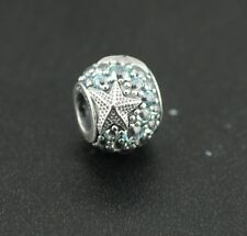 Original Pandora Element Charm 791905CZF Seestern NEU 925 Silber