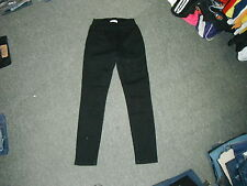 "BHS Petite Skinny Jeans Size 8 Leg 26"" Black Faded Ladies Jeans"