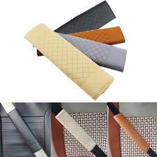 Safety Seat Belt Case Shoulder Pad Leather Car Seat Safe Belt Cover For All Cars