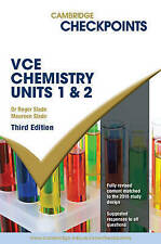 Cambridge Checkpoints VCE Chemistry Units 1 and 2 by Roger Slade, Maureen...