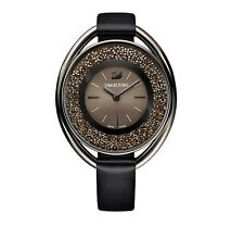 Swarovski 5158517 Crystalline Oval Black Tone Watch, Swiss Made RRP $499