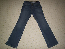 DKNY SOHO DISTRESSED STRETCH BOOTCUT JEANS 28 INCH WAIST UNSTRETCHED