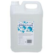 5L Bottle Of QTX Light Bubble Fluid 5 Litre Bubble Machine FX Party Disco Liquid