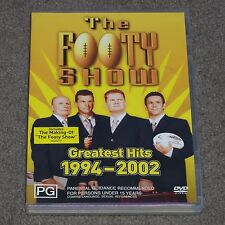 The Footy Show : Greatest Hits 1994-2002 - DVD - NRL - Rugby League