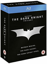 BATMAN THE DARK KNIGHT TRILOGY Begins Rises 1-3 Collection Boxset (NEW BLU-RAY)