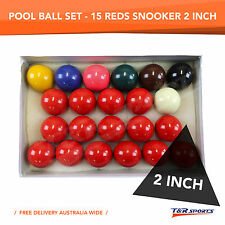 NEW! QUALITY 2'' (INCH) BILLIARD SNOOKER BALL SET BIG SALE 70% OFF!!!