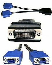 HP Molex DMS-59 to Dual VGA Monitor Splitter Cable 338285-008