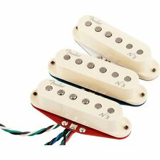 Fender N3 Noiseless Strat Guitar Alnico 2 3 5 Replacement Pickup Set 3 in White