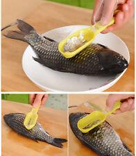 New Fish Scale Scraper Kitchen Fish Scale Remover Mini Cooking Accessories Tools