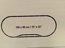 Aus Märklin Artnr 29641 -C , Gleisset mit 2 Weichen (28-teilig) * NEU ohne OVP