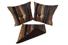 Kissenbezug Kissenhülle 40x40cm Dekokissen Holz von Bertoni Dekoration Design!