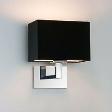 Astro Connaught 0567 Chrome Wall Light With Back Shade 60W SES