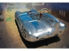 NEW 1957 Lotus Eleven Le Mans tin metal sign