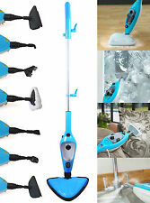 STEAMER 1500W 12 IN 1 STEAM MOP HAND HELD STEAMER CLEANER WITH ALL ACCESSORIES
