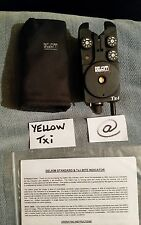 DELKIM Txi -YELLOW GOOD CONDITION & SOFT CASE New 'O' Ring +INSTRUCTIONS  CARP