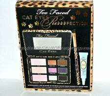 TOO FACED Cat Eyes Purrrfection Set Shadow Palette Brush Primer new in box