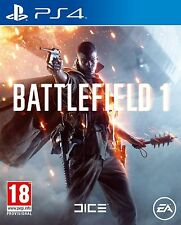 Battlefield 1 (PS4) UK PAL Brand New & Sealed Free UK Delivery