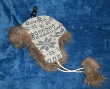 NEW WITH TAGS M&S TRAPPER TYPE NORDIC NARNIA HAT UNISEX