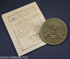 Medaille zur Erinnerung Erstürmung von Lille in original Verleihungstüte 1914