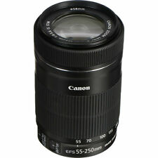 Canon EF-S 55-250mm f/4-5.6 IS STM Lens Original Retail Pack *UK TAX FREE