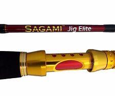 """SAGAMI JIG ELITE JIGGING FISHING BOAT ROD 24KG - 37KG  5' 6"""" 1.65M SUPER TOUGH"""