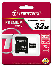 TRANSCEND 32GB MICRO SD SDHC CLASS 10 UHS-I 32 GB SPEICHERKARTE